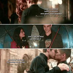 Clace,Sizzy and Malec