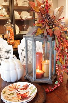 Sweet Something Designs: Fall Lantern (Tutorial)