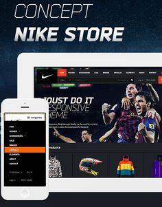 http://downloadpsd.co/e-commerce-psd-template-nike/ Today we are showcasing E-commerce PSD Template-Nike. The PSD design is really clean, Stylish & Business Oriented. It's useful for your next online store Project. PSD Theme is Retina Ready & Mobile Ready Too.isn't it too much Grab Free PSD Now! Cheers