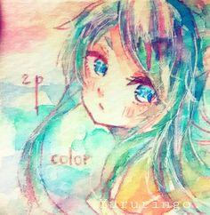 #illustration #watercolor #art #girl