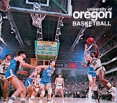 Oregon basketball player Ronnie Lee vs. UCLA 1974.
