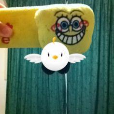 Also Spongebob is my friend!