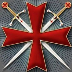Ordre du Temple or Templiers-The Templars , the Knights of the Order of the Temple of Jerusalem.