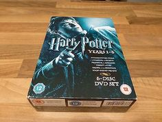 #Harry potter #collection - years 1-6 #(dvd, 2009, 6-disc set, box set),  View more on the LINK: http://www.zeppy.io/product/gb/2/322385318321/