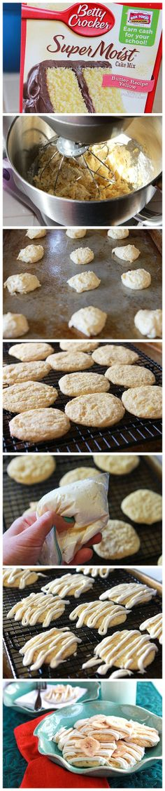Three ingredients and you've got cookies? Banana Bread Cookies? You better believe it, babychickaroo!