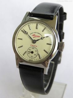 All other Gents Watch Makers, Mid-size West End Watch Co Sowar Prima Wrist Watch. Mid-size West End Watch Co Sowar Prima wrist watch. Old Watches, Vintage Watches For Men, Gents Watches, Sport Watches, Best Looking Watches, Mens Fashion Wear, West End, Men Necklace, Retro
