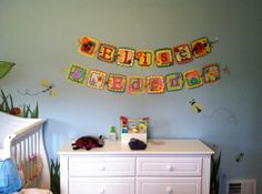 Banners made for my friend's two daughters.