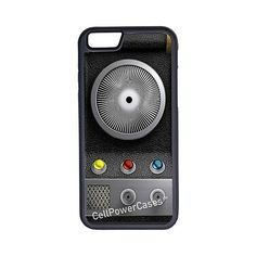 CellPowerCasesTM Star Trek Communicator iPhone 6 (4.7) Protective V1... ($13) ❤ liked on Polyvore featuring accessories, tech accessories and black