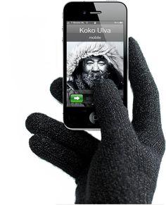 Touchscreen Gloves - better be prepared for Winter!