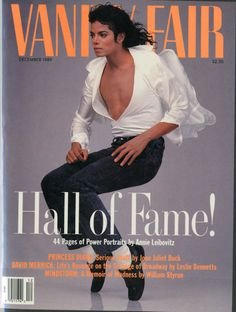 Micheal Jackson on Vanity Fair US December 1989...The Best Cover