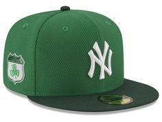 New York Yankees New Era 2017 MLB On-Field St. Patrick's Day 59FIFTY Cap