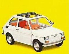 Fiat 126 retro Fiat 500, Good Looking Cars, Design Cars, Fiat Abarth, Steyr, Car Advertising, Maserati, Peugeot, Cars And Motorcycles