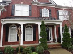 House Shutters and Columns Before and After Photos | EXOVATIONS