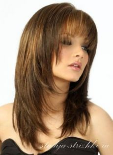 Стрижка Лесенка на длинные волосы | Стрижки и Прически