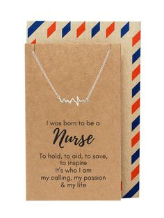 We're currently accepting pre-orders for this necklace and greeting card. Allow 5-6 weeks for delivery of your item after we fulfill. Free Shipping (standard, US) if you reserve yours today. Use code