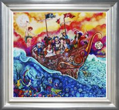 """""""The Pirate Ship"""" Unique Edition Dedicated by Kerry Darlington on the back"""
