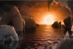 Encuentran tres nuevos planetas habitables