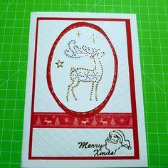Natale ❤🎄🎁 #natale #renna #merryxmas #rosso #faidate #homemade #nobigshot #handmade #cardmakign #papercrafts