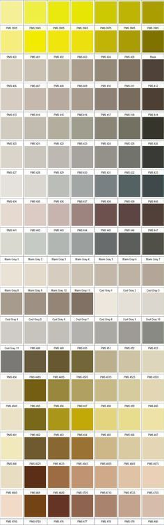 Pierre Marchand (pierre1183) on Pinterest - ral color chart