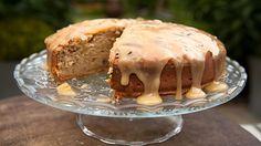 James Martin's banana and maple syrup cake