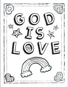 God So Loved The World Coloring Page Pages Are A Great
