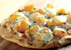Pizza alle sensazioni di raviolo