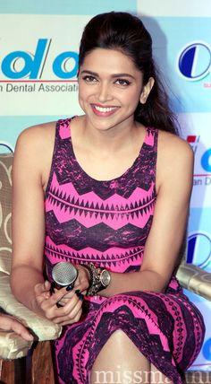 Deepika Padukone; she's gorgeous & her hair is to die forrr