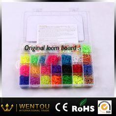 -Rainbow Bracelet silicone wristband diy bracelet loom sets  -bracelet rubber bands   -rubber band bracelets  -loom sets