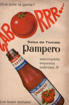 Salsa Ketchup Pampero (1967).