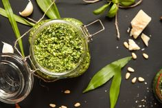 Organic As it Gets Produce: Introducing Our New Product ! |Wild Garlic Pestoco...
