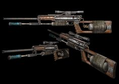 Tihar Weapon from Metro 2033