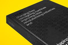 'Uptake' - Book Design on Behance