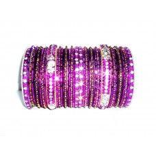 love this sparkly purple set.