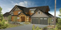 Mountain Rustic Plan Line - Trailside Homes