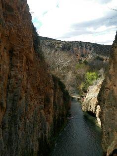 Vista desde el Monasterio de Piedra