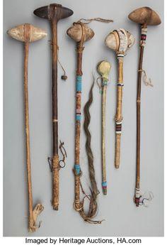 American Plains Indian Art: Six Stone Head Clubs Native American Tools, Native American Artifacts, American Indian Art, Native American History, American Indians, American Symbols, American Women, Native Indian, Native Art