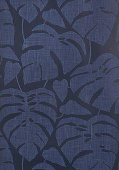 by Missprint Guatemala Cobalt Wallpaper http://wallpaperantics.com.au/ $189 per roll