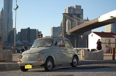 My Fiat 500 circa 1967. Adopted by Lonzo, extended stay in New York.