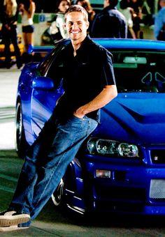 Paul Walker as Brian O'Connor in Fast and Furious 7 Fast And Furious, The Furious, Paul Walker Tribute, Rip Paul Walker, Bmw Isetta, Vin Diesel, Porsche Carrera, Nissan Skyline For Sale, Skyline Gtr R34