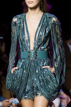Elie Saab, Spring 2017 - The Most Magnificent Details from the Spring '17 Paris Runways - Photos