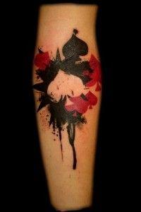spades tattoo by Math