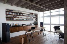 дневник дизайнера: Мужские интерьеры домашних кабинетов. 60 характерных фото