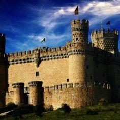 Castillo Manzanares Espana
