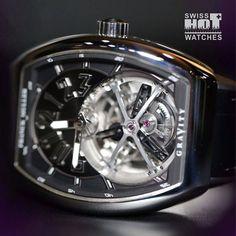 FRANCK MULLER GRAVITY with it incredible tourbillon ! #easytowatch #watch #watchfam #watchporn #watchaddict #watchoftheday #world #horology #luxury #watchenthusiasts #frankmuller #horology #picsoftheday #luxury #Wristshot #instagram #like4like  #instawatch #womw #mechanic #mouvement #gravity #swiss #silver #geneve #like4like #rm #hot