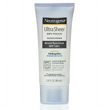 Neutrogena Ultra Sheer Dry-Touch Water Resistant and Non-Greasy Sunscreen Lotion with Broad Spectrum SPF 3 fl. Best Skincare Products, Best Face Products, Beauty Products, Beauty Tips, Beauty Ideas, Beauty Essentials, Beauty Stuff, Makeup Products, Beauty Secrets
