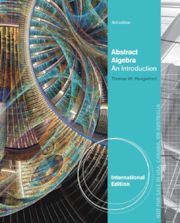 Abstract algebra : an introduction Thomas W. Hungerford Novedades Abril 2016