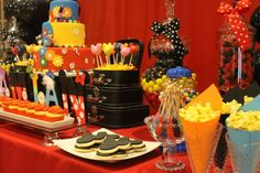Mickey Mouse Clubhouse 1st Birthday  | CatchMyParty.com