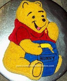ideas for birthday cake thoughts Birthday Dinner Menu, Mum Birthday Gift, Bear Birthday, Star Wars Birthday, Cool Birthday Cakes, 2nd Birthday Parties, Birthday Ideas, Birthday Crafts, Winnie The Pooh Themes