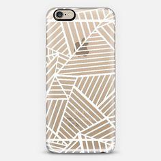 White see through phone case