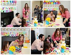 Ariella's 3rd Birthday: An Art Party - Project Nursery